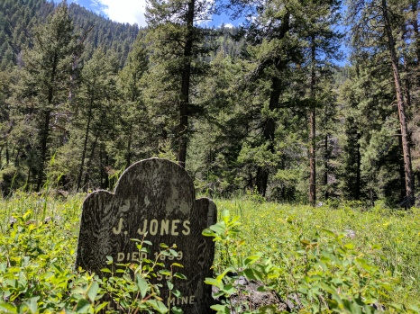 RIP J. Jones, who died in a mining accident, 1899