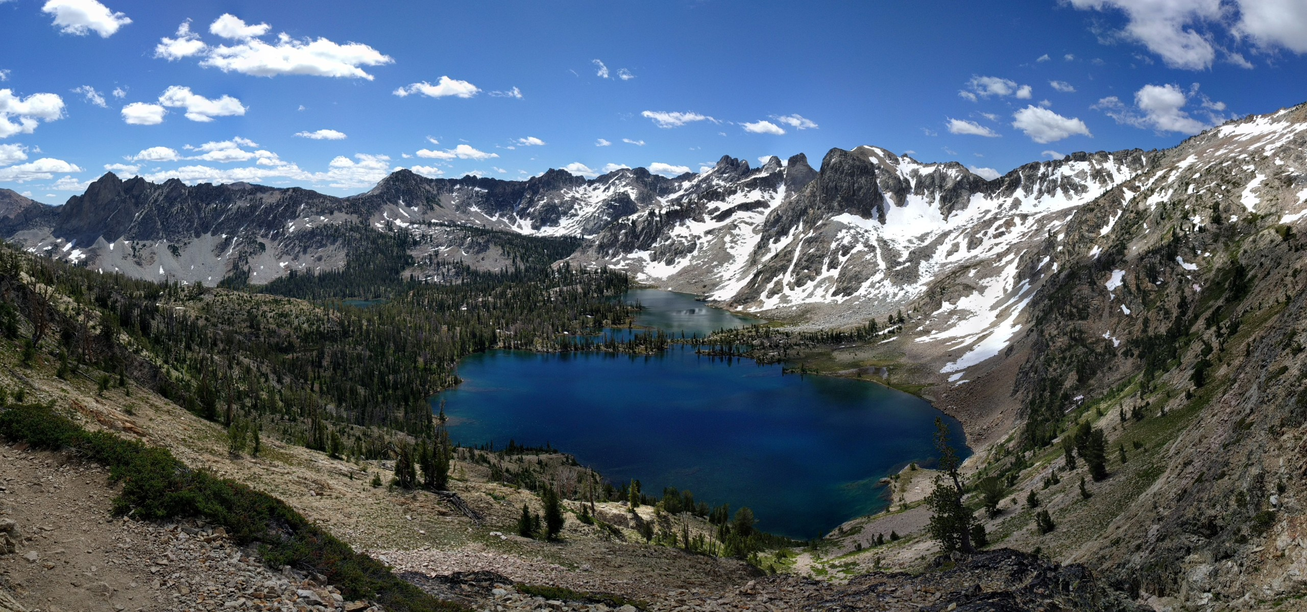 Twin Lakes Idaho Sawtooths Alice-Toxaway Lakes Loop backpacking hiking alpine
