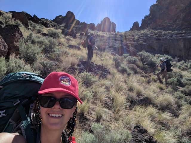 going into the Honeycombs, Owyhee Canyonlands, Oregon