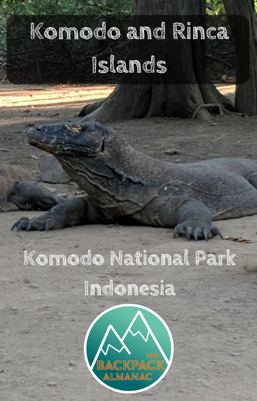 Komodo and Rinca Islands | The Backpack Almanac