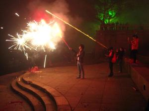 Fireworks for Chinese New Year - so dangerous, but so fun!