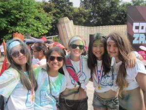 Color Run with amazing friends